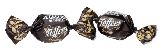 Toffers toffe chocolateado